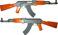 Cyma CM042M AK47 AEG in Wood and Black