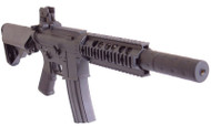 D|Boys M4 RIS SD CQB Full Metal AEG Rifle in Black