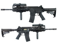 D|Boys M4 Full Metal AEG with Tactical Stock in Black