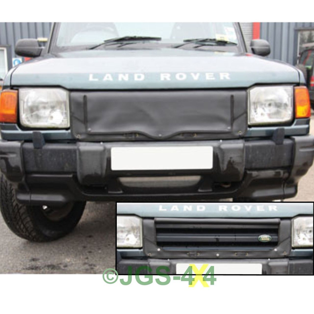 1998 Land Rover Range Rover Interior: Land Rover Discovery 1 Radiator Muff Grill Cover 300TDi