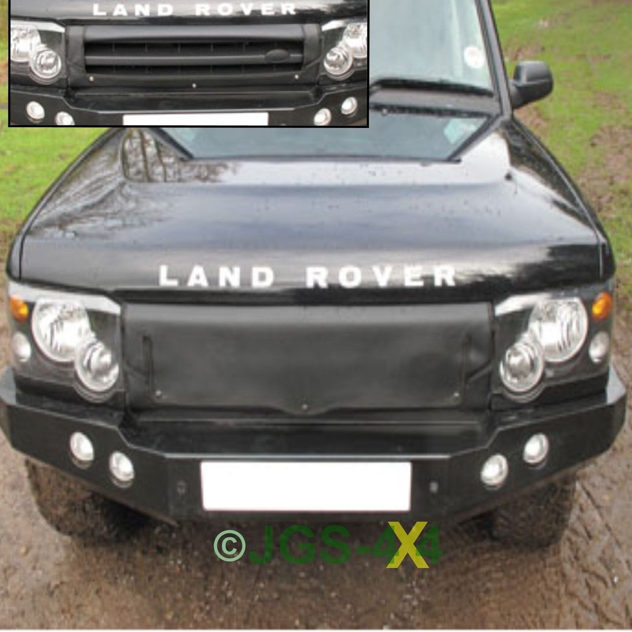 Land Rover Discovery 2 TD5 Radiator Muff Grill Cover