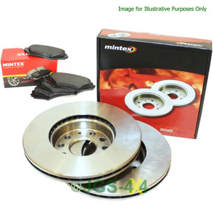 Discovery 3 Front Brake Discs & Pads Kit MINTEX