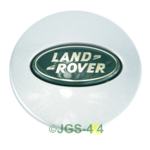 Land Rover Range Rover P38 Alloy Wheel Centre Cap Silver 63mm - LR001156