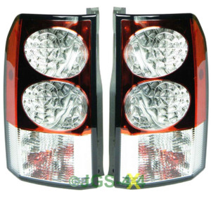 Land Rover Discovery 3 & 4 Rear LED Tail Light Lamps Pair - LR014003 / LR014001