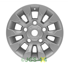 """Land Rover Defender SAWTOOTH Style Alloy Wheel Silver 16"""" X 7"""" - LR025862MNH"""