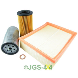 Land Rover Range Rover P38 2.5DT Service Filter Kit Oil Air Fuel Filters