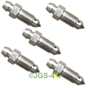 Land Rover Defender & Discovery 1 Brake Caliper Bleed Screw Metric x5 - RTC1526