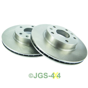 Land Rover Freelander 1 TD4 Front Brake Disc Set Vented - SDB101070