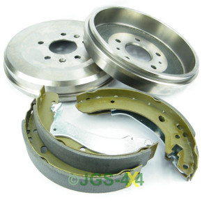 Land Rover Freelander 1 Rear Brake Drums + Shoe Kit - SDC100130