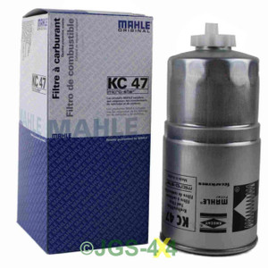 Land Rover Range Rover P38 2.5TD Diesel Fuel Filter MAHLE KC47 - STC2827