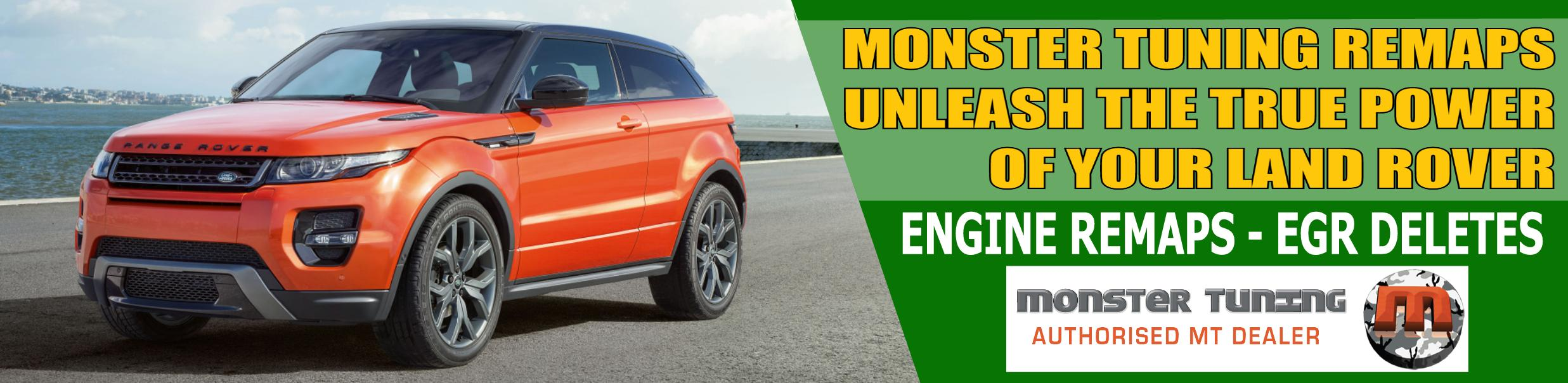 Monster Tuning Engine Remaps and EGR Deletes