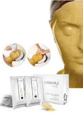 Casmara Gold Mask 2080 \ 1 unit  ( 1 power pack  .88 oz & 1 gel pack 3.38 oz )