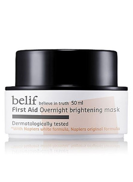 belif : First Aid Overnight Brightening Mask