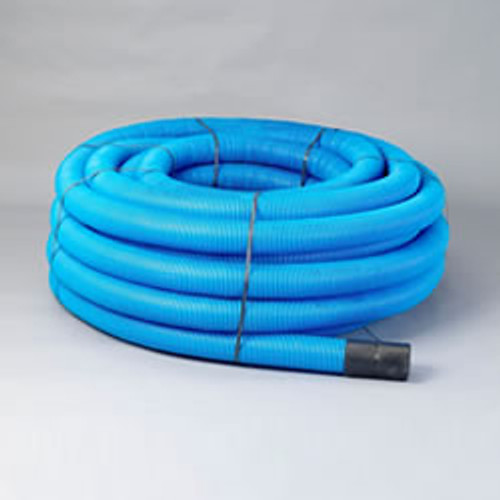 50/63mm Blue Ducting Coil (50m)