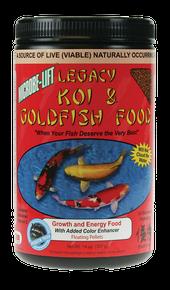 Microbe-Lift Legacy Koi and Goldfish Food - High Growth & Energy 12 oz.