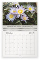 Lilyblooms 2017 Wall Calendar - October