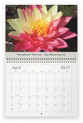 Lilyblooms 2017 Wall Calendar - April