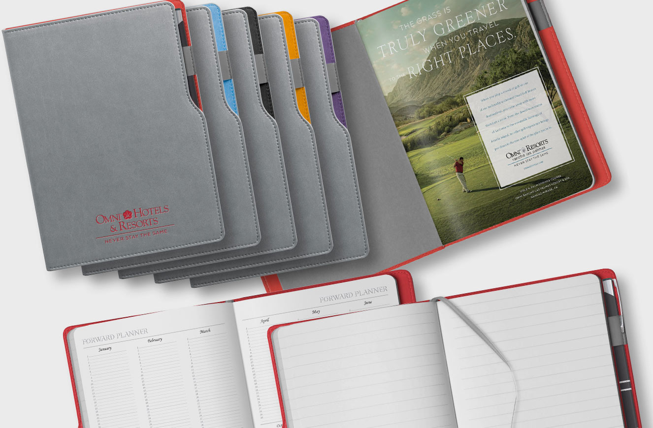 Hardcover with side pen port