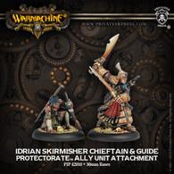Idrian Skirmisher Chieftain & Guide