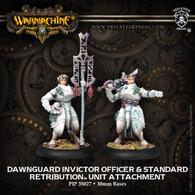 Dawnguard Invictor Officer & Standard