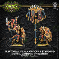 Praetorian Karax Officer and Standard