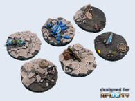 Urban Fight Bases, Round 40mm (2)