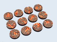 Chaos Waste Bases, Round 25mm (5)