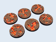 Chaos Waste Bases, Round 40mm (2)
