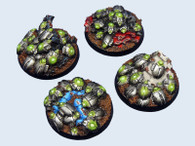 Mecano Swarm Base, Round 40mm (2)