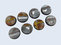 Warehouse Bases, Round 32mm (4)