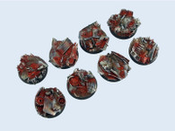Scrapyard Bases, 32mm Round (4)