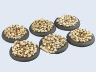 Skulls Bases, WRound 40mm (2)