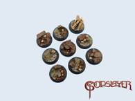 Troglodyte Bases, WRound 30mm (5)