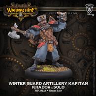 Winter Guard Artillery Kapitan