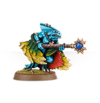 Skink Priest With Feathered Cloak