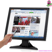 """Vermillion"" LCD Touchscreen Monitor - 17"" TFT LCD Screen 1280x1024 HDMI/VGA"