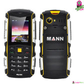 """Defiant Bear"" MANN Rugged Phone (Moonlight) - 2"" Display IP67 Water+Dustproof"