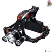 """Stargazer"" CREE Headlight - 3x CREE XM-L T6 LED Light 3800 Lumens Weatherproof"