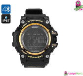 Bluetooth Smart Watch - IP67 Waterproof, Bluetooth 4.0, Social Notification