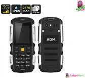 Rugged Mobile Phone AGM M1 - IP68, Dual-IMEI, 3G, Removable Battery 2570mAh
