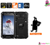 Conquest S6 Rugged Phone (Black)