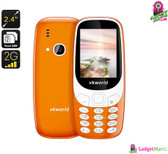 VKWorld Z3310 Cell Phone (Orange)