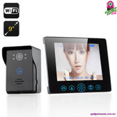 """Penolopei"" Wireless Video Door Phone - 7"" Monitor Night Vision Tamper Alarm"