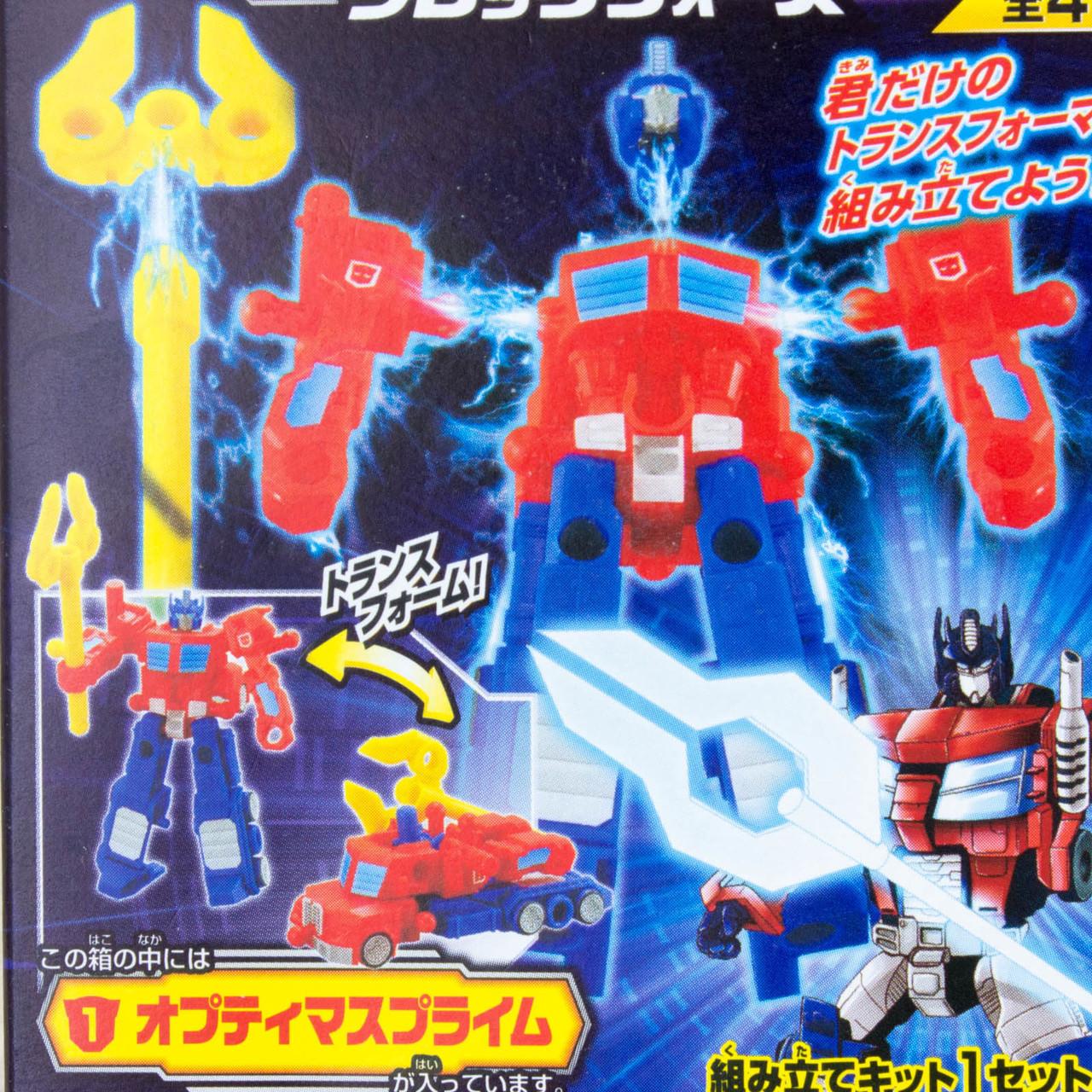 Transformers Optimus Prime Mini Figure Block Wars Kabaya
