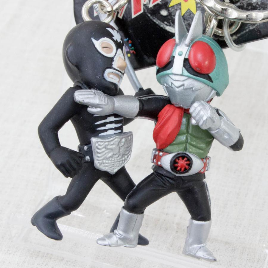 Kamen Maked Rider VS. Shocker Figure Key Chain JAPAN ANIME