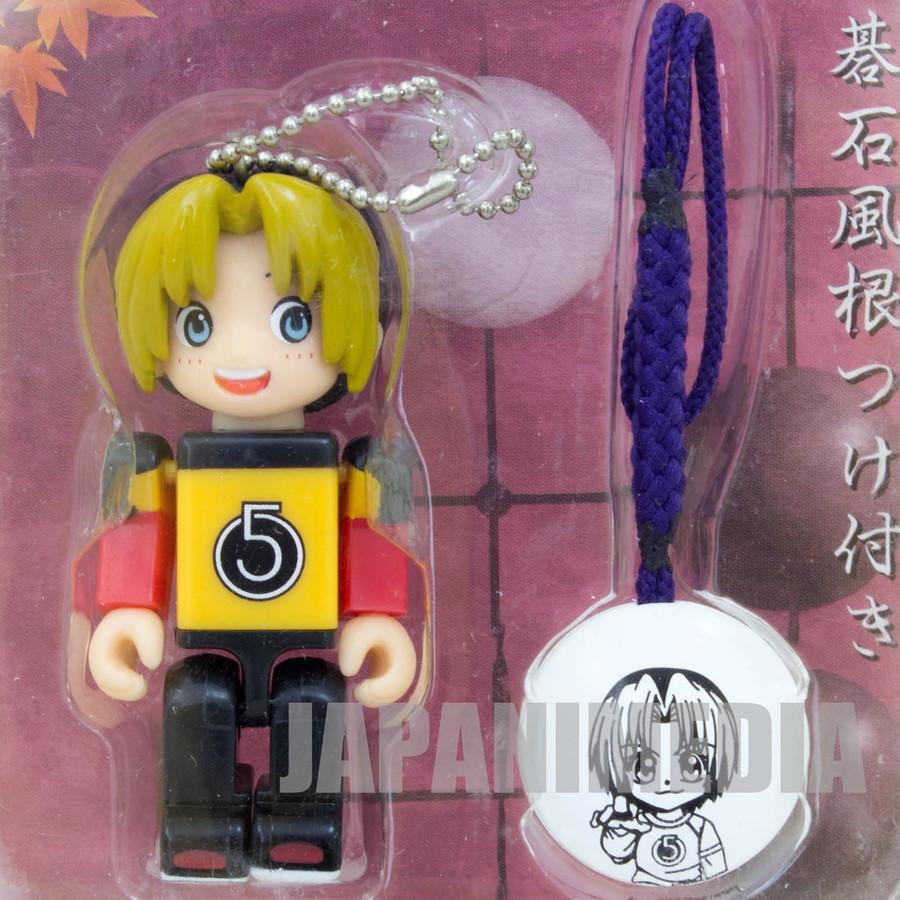 Hikaru No Go Shindo Hikaru Figure W/ Strap Tinibiz JAPAN