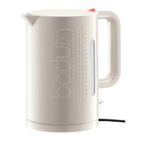 Bodum Bistro Wasserkocher 1.5-Liter in Matt-Weiß