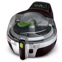 Tefal ActiFry Family Aw950040 Low Fat Fryer Limited Edition Black