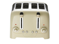 Dualit-Lite-Peek-N-Pop-46202 4-Scheiben Toaster in Creme glänzend