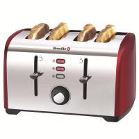 Breville VTT391 4 Scheiben Toaster in rot